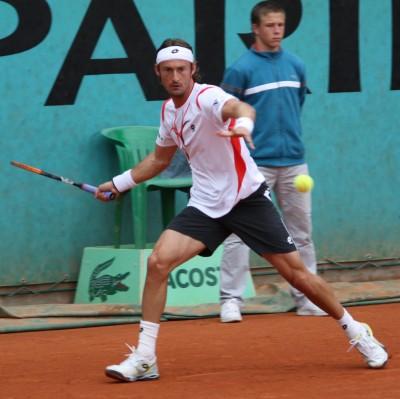 Juan Carlos Ferrero, Roland-Garros 2009 (photo Guillaume)