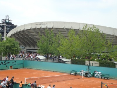 Courts annexes, Roland-Garros (photo DR)