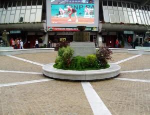Place des Mousquetaires, Roland-Garros (photo Mariejo)