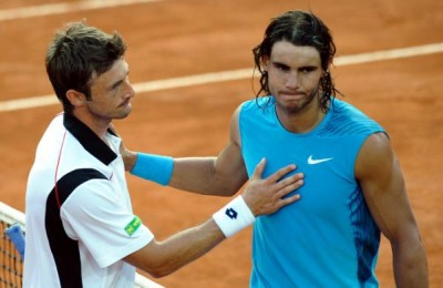 Ferrero vs Nadal, Rome 2008 (photo DR)