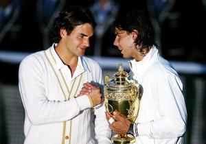 Federer - Nadal (photo DR)