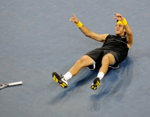 Juan Martin Del Potro, US Open (photo DR)