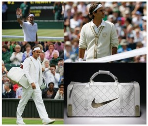 Roger Federer, victime de la mode (photo DR)