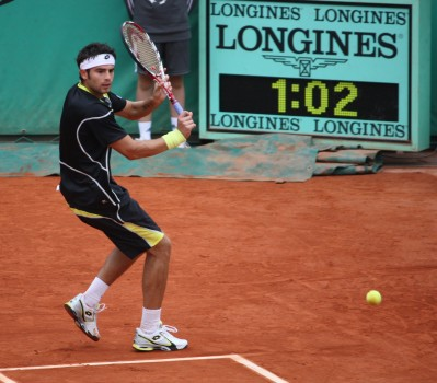 Simone Bolelli, Roland-Garros 2009 (photo Guillaume)