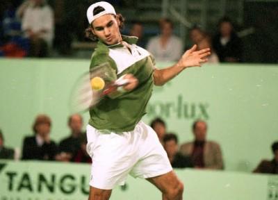 Roger Federer, Brest 1999 (photo DR)