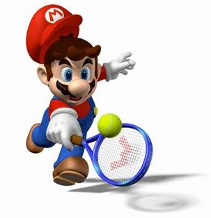Super Mario tennis (photo DR)