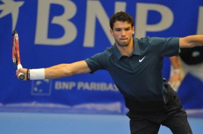 Grigor Dimitrov (photo Freddy Micheneaud, Open de Rennes 2010)