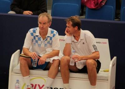 John McEnroe - Stefan Edberg, double de rêve (photo MJ)