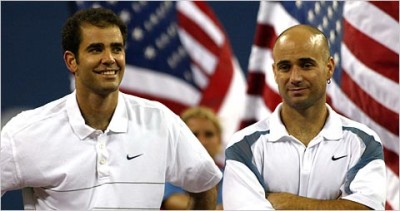 Agassi vs Sampras, US 2002 (photo DR)