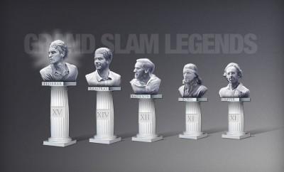Tennis legends (photo DR)