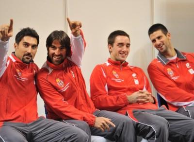 L'annonce de la sélection de Gilles Simon a miné le moral de l'équipe serbe.
