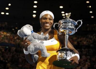 Serena Williams, Melbourne 2010 (photo DR)