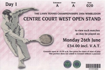 Ticket Wimbledon
