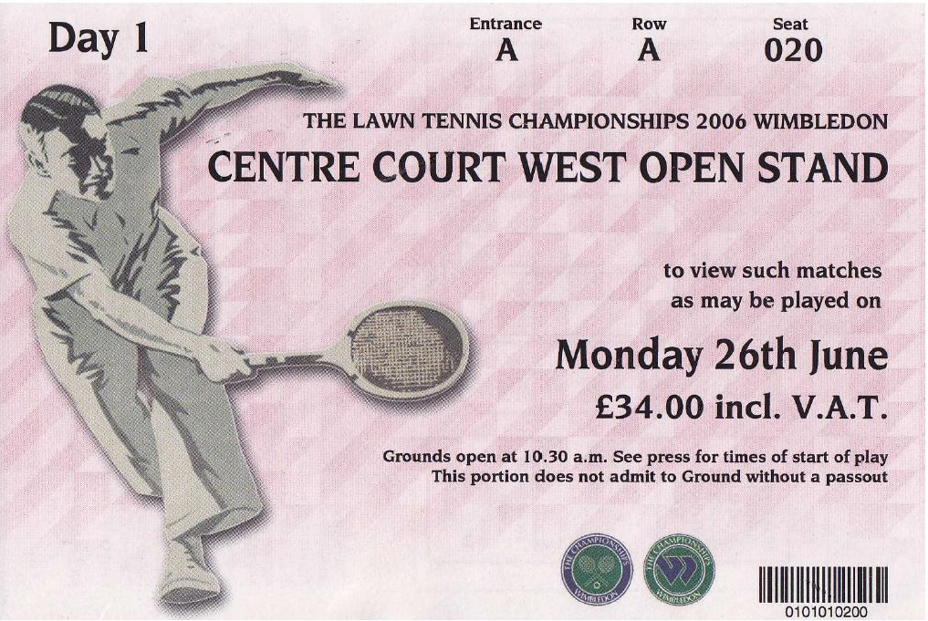 Wimbledon Ticker