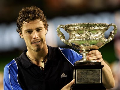 Marat Safin remporte l'Open d'Australie 2005 (photo DR)