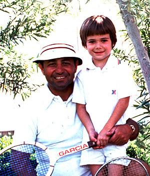Andre Agassi With Family, 1976