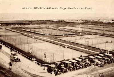 Courts de tennis Deauville (photo DR)
