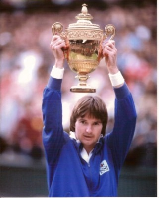 Jimmy Connors, Wimbledon 1982 (photo DR)