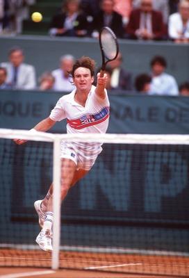 Jimmy Connors, maudit de Roland-Garros (photo DR)