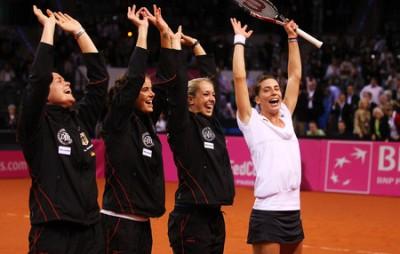 Equipe d'Allemagne de Fed Cup (photo DR)