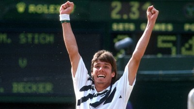 Michael Stich, Wimbledon 1991 (photo DR)