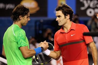 Nadal - Federer, Australie 2012 (photo DR)