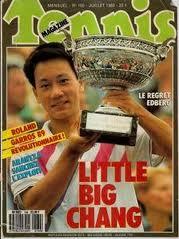 Michael Chang, Tennis mag