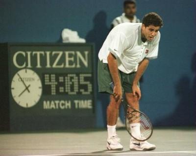 Pete Sampras, US Open 1996 (photo DR)