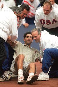Pete Sampras, Coupe Davis 1995 (photo DR)