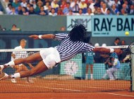 Noah - Hlasek, Roland-Garros 1988 (photo DR)