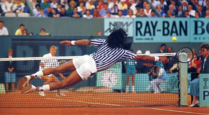 Noah Hlasek Roland Garros 1988 Photo Dr 15 Lovetennis