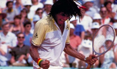 Yannick Noah, Roland-Garros 1983 (photo DR)