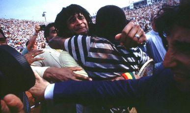Yannick et Zacharie Noah, Roland-Garros 1983 (photo DR)