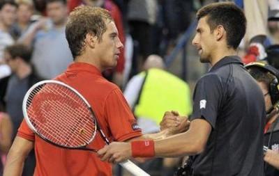 Gasquet vs Djokovic, Toronto 2012 (photo DR)