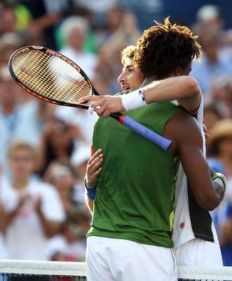 Ferrero - Monfils, US Open 2011 (photo DR)