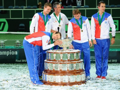 D'ardents défenseurs de la Coupe Davis (photo DR)