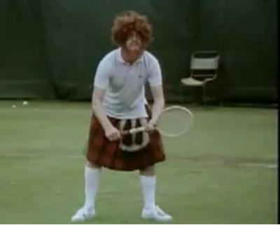 """Andy Murray : """"Si je gagne, je soulève mon kilt"""""""