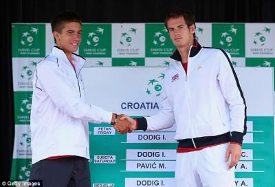 Et oui Justin Bieber fait partie de l'équipe croate de Coupe Davis.
