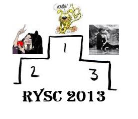 Sylvie numéro 1 au RYSC 2013 !