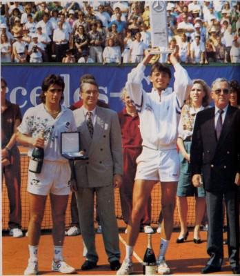 Stuttgart 1990, le premier titre