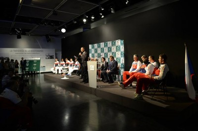 Tirage au sort au musée de Roland-Garros, là où chaque année sont aussi tirés les tableaux des Internationaux de France