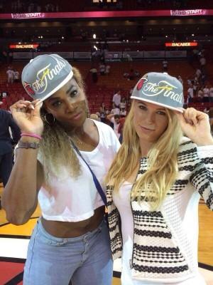 Serena et Gretchen