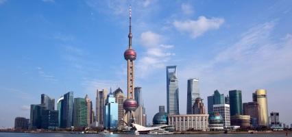 shanghai-skyline-in-China