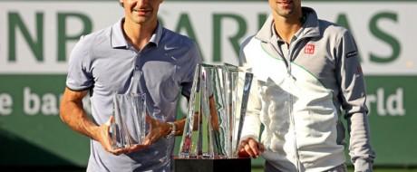 Djokovic - Federer, Indian Wells 2014