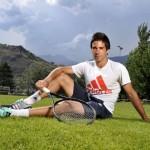 Le leader de l'équipe suisse, au naturel
