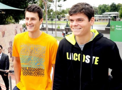 Tomic - Raonic, young guns