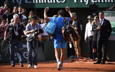 Nadal quitte Roland