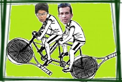 Chung et Radek, le tandem
