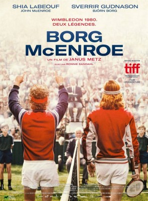 Borg McEnroe affiche film fr