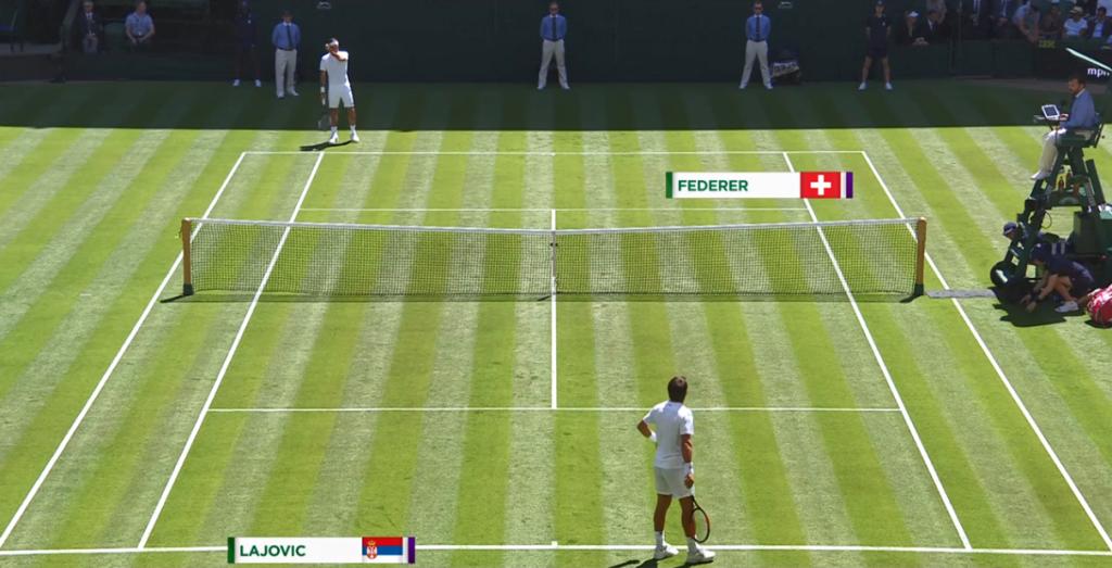 Wimbledon 2018 : Le Center Court avant le premier coup de raquette